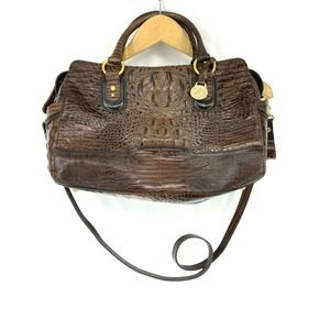 Brahmin Handbag Pecan Croc Melbourne